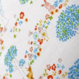 画像2: 森のかくれんぼ動物◎底布付 3点セット 手作りキット 入園入学 材料セット
