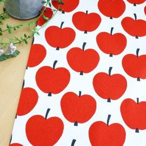 画像4: 大きなリンゴ【カット生地】 縦50cm×横105cm 中厚手生地