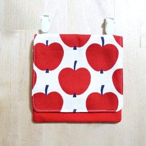 画像2: 大きなリンゴ【移動ポケット】手作りキット 中厚手生地【I】
