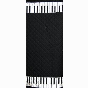 画像2: ブラックのピアノ 【ピアニカバッグ】手作りキット キルティング【P】