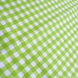 画像2: シンプルチェック グリーン&ピンク【お弁当袋】手作りキット 手芸キット 中厚手生地【C】