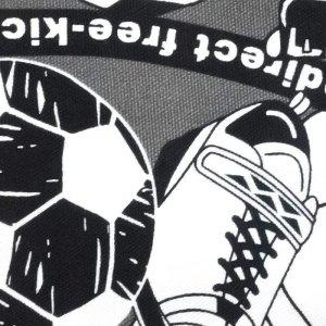 画像2: サッカーボール&スパイク【ランチョンマット】手作りキット 入園入学 手芸キット 中厚手生地