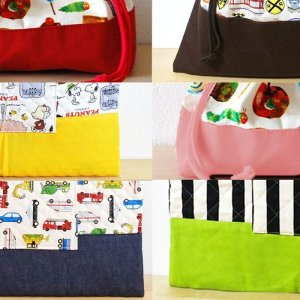 画像1: 選べる6カラーの底布(切替生地)