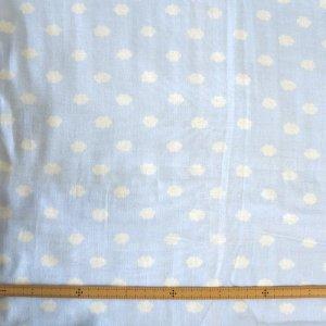 画像3: お空のくも ライトブルー【くるくるスタイ】ベビー 手作りキット ダブルガーゼ 国産