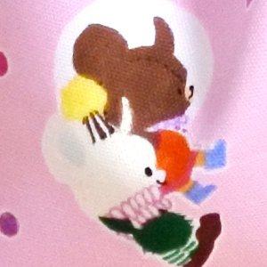 画像2: ジャッキーとおつきさま【お弁当袋】材料セット 入園入学 中厚手生地